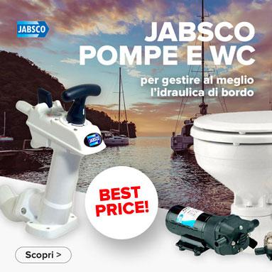 Pompe e Wc Jabsco al miglior prezzo