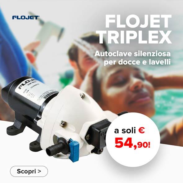 Pompa Flojet Triplex prezzo migliore