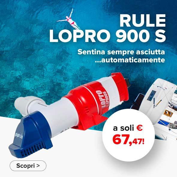 Pompa sentina Rule Lopro 900 S Offerta