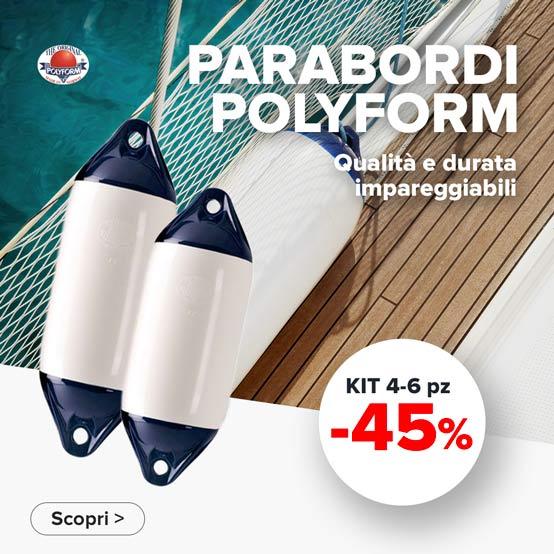 Parabordi Polyform Norway miglior prezzo