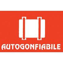 """Adesivo segnale """"Autogonfiabile"""" 12,7 x 8 cm"""