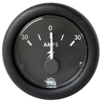 Amperometro Nero 30 A.