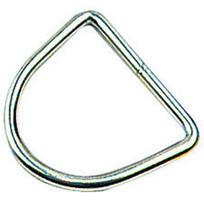 Anello a D inox 6 x 40 x 37