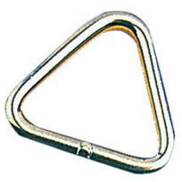 Anello triangolare inox