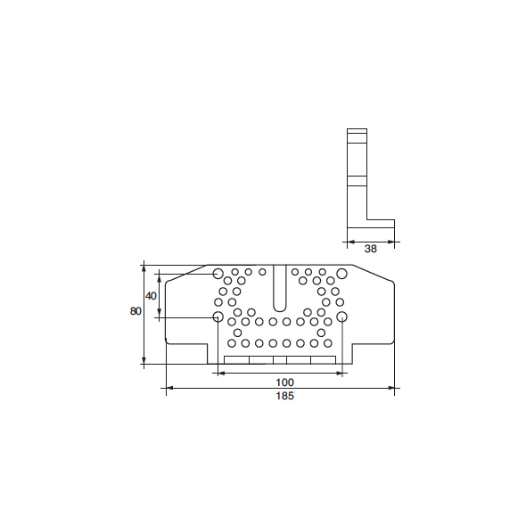 Anodo Bombardier F-OMC-G HP 100÷245