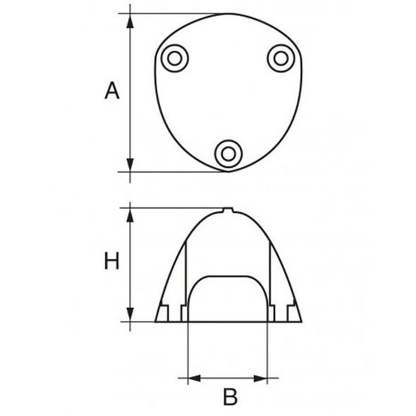 Anodo Max Prop F-MAX-6