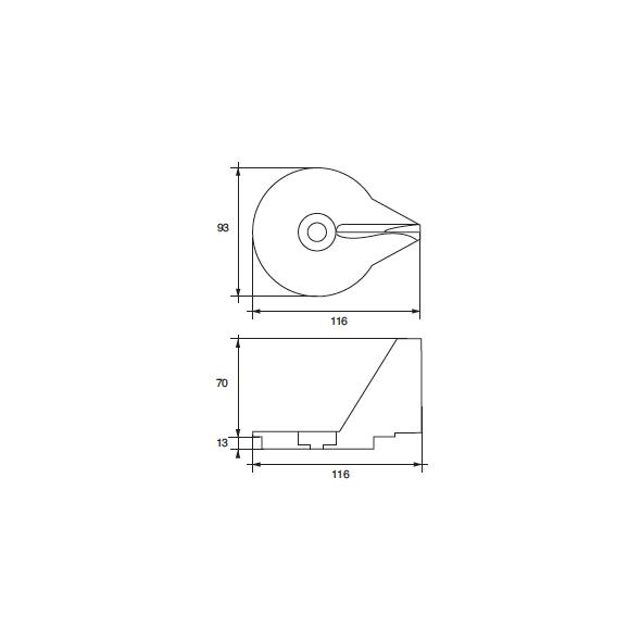 Anodo Mercury - Mercruiser FM-21 HP 25-30-40 4 TEMPI