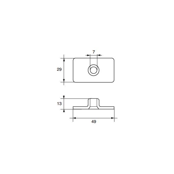 Anodo Mercury - Mercruiser FM-24 HP 4,7-7.5-9,8