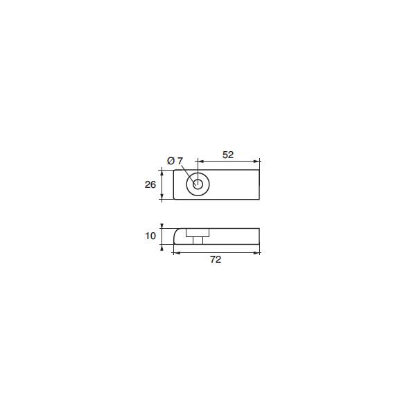 Anodo Mercury - Mercruiser FM-38 HP 215-275
