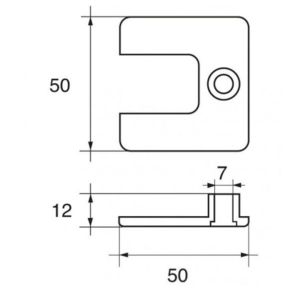 Anodo Mercury - Mercruiser FM-7 HP 4÷7