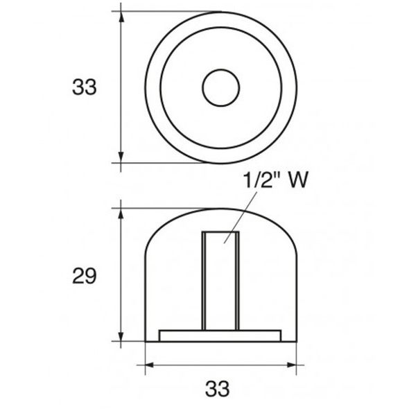 Anodo Mercury - Mercruiser FM-R TAPPO