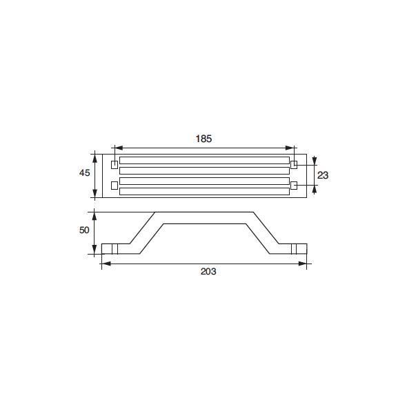 Anodo Yamaha - Mariner F-YA-115 HP 115÷225