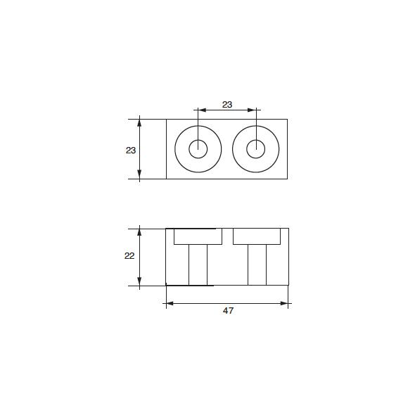 Anodo Yamaha - Mariner F-YA-16 HP 115÷225