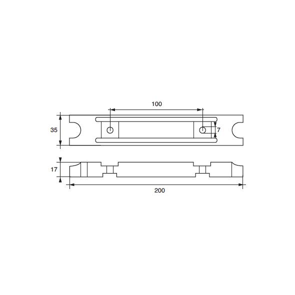 Anodo Yamaha - Mariner F-YA-21 HP 25÷75