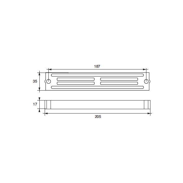 Anodo Yamaha - Mariner F-YA 60/90 HP 60÷90