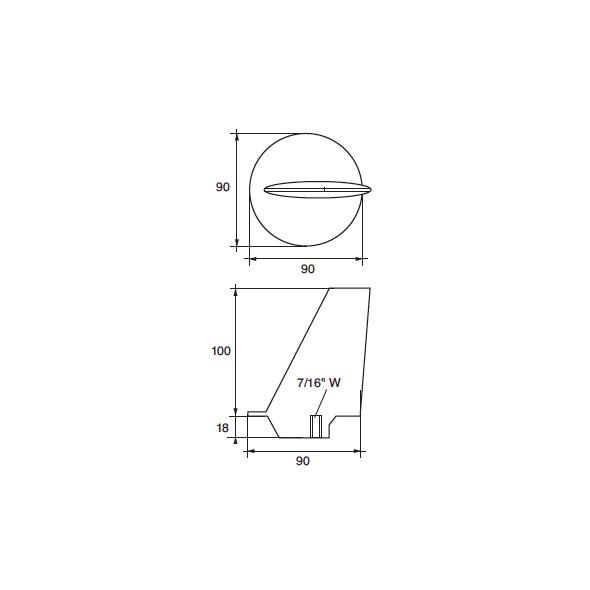 Anodo Yamaha - Mariner FM-2M HP 80÷140