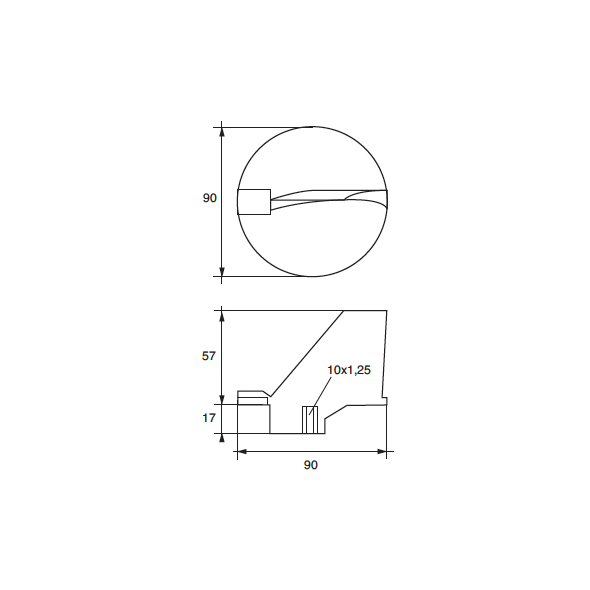 Anodo Yamaha - Mariner FM-YA-115 HP 115÷125