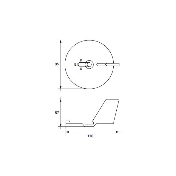 Anodo Yamaha - Mariner MARINER HP 10-50