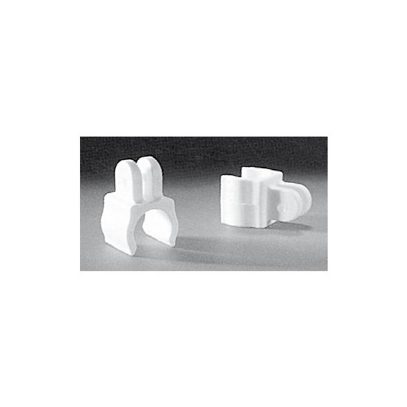 Attacco corrimano nylon D.25 mm