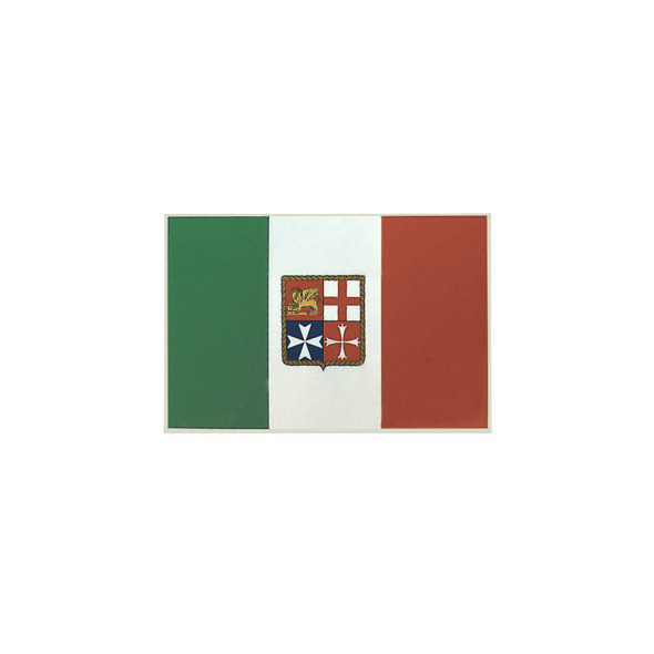 Bandiera autoadesiva Italia cm 11x16