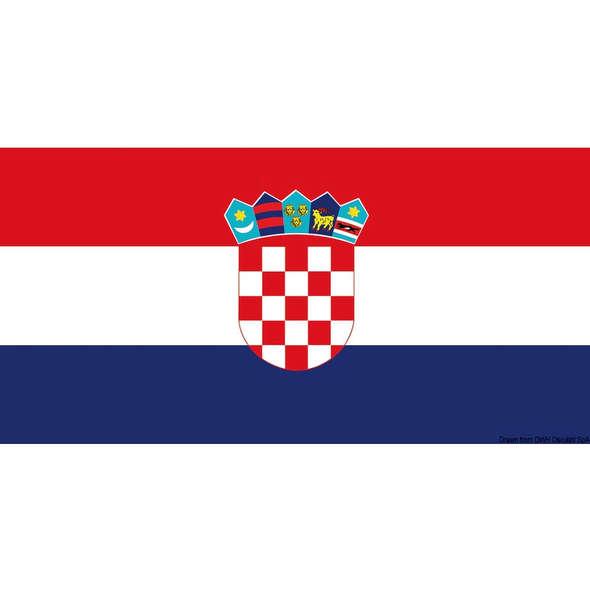 Bandiera Croazia Pesante cm 20 x 30