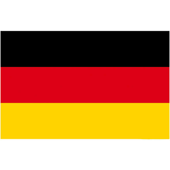 Bandiera Germania Pesante cm 30 x 45