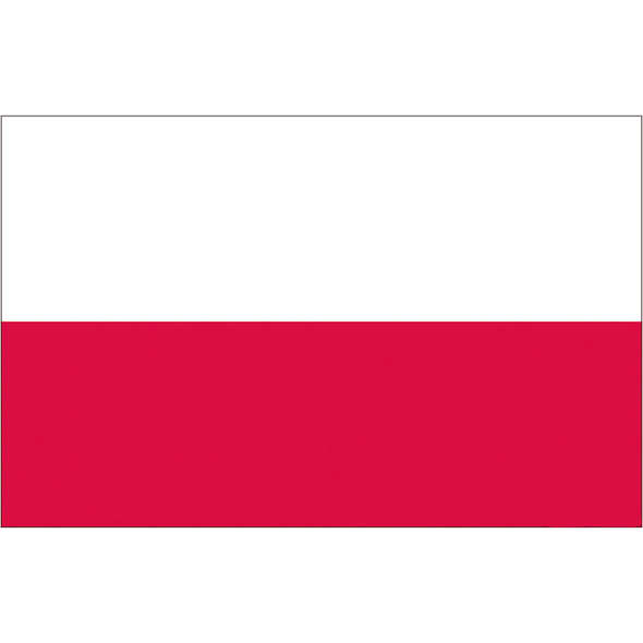 Bandiera Polonia Pesante cm 20 x 30