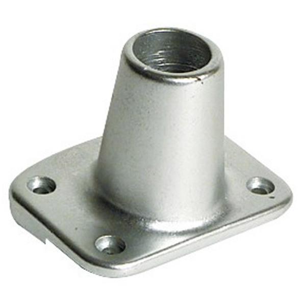 Base alluminio per falchetta Dritta 90°