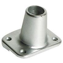 Base alluminio per falchetta Inclinata 7°