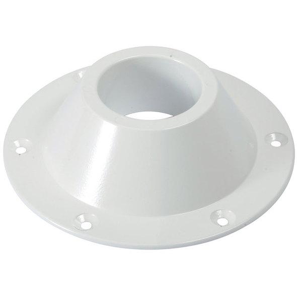 Base conica per gambe tavolo bianca