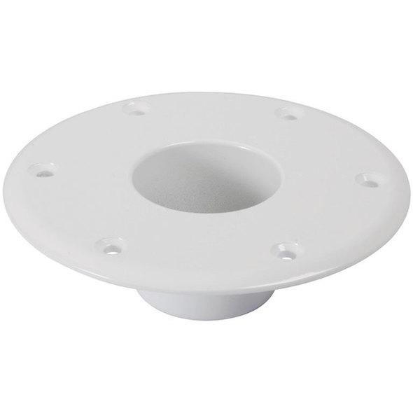 Base inferiore per gambe tavolo bianca
