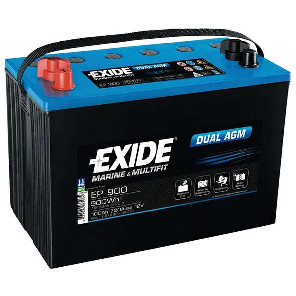 Batteria EXIDE AGM EP900