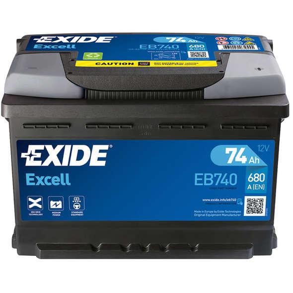 Batteria Exide Excell EB1000 100 Ah