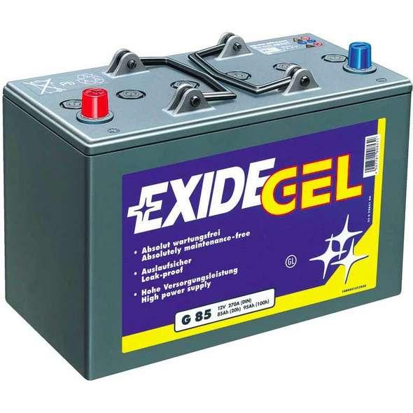 Batteria Exide Gel ES650 60 Ah