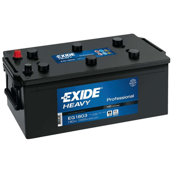 Batteria Exide Professional EH1206 120 Ah