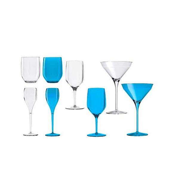 Beach Line Bicchiere Party Azzurro