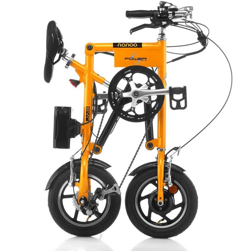 Bici Pieghevole Nanoo Prezzo.Bici Nanoo Efb 12 Elettrica Arancione In Vendita Online