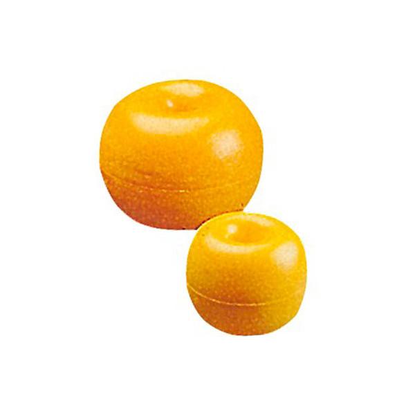 Boa polietilene con foro passante mm 170 giallo