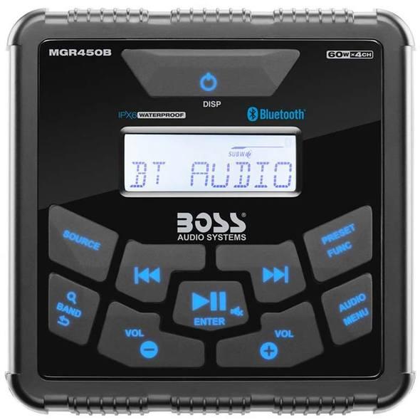 Boss Marine MGR450B Stereo da Cruscotto
