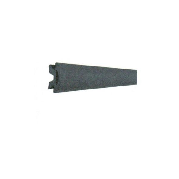 Bottazzo PVC per supporto da mm 56 - Nero mt. 24