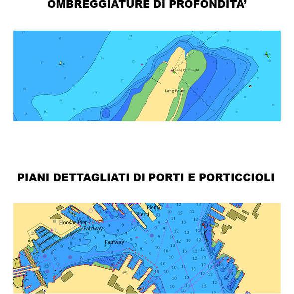 C-Map SD Card 4D Max+ Wide Mediterraneo Centro Occidentale