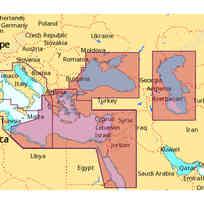 C-Map SD Max Wide - Mediterraneo Est (inglese)