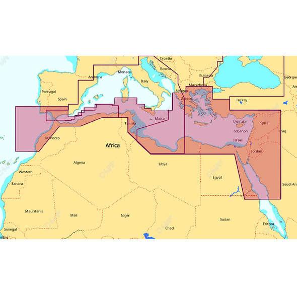 C-Map SD Max Wide - Sud Mediterraneo e Mar Egeo