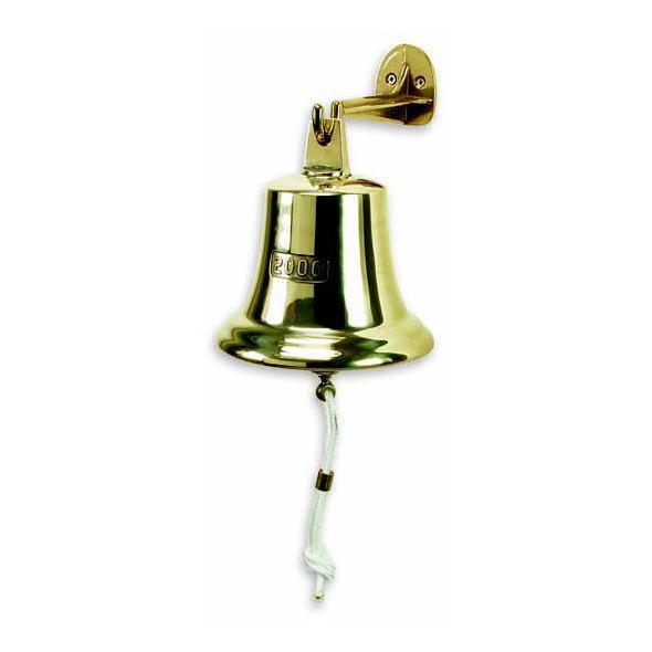 Campana 1888 in ottone lucido. Attacco oscillante