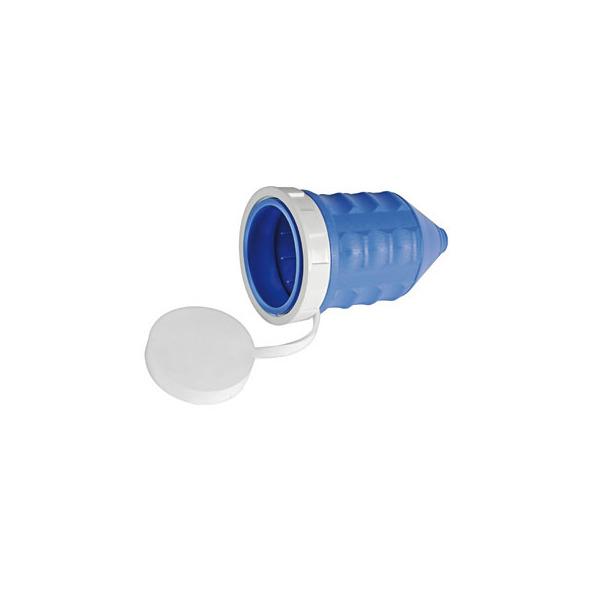 Cappuccio impermeabile 50A blu