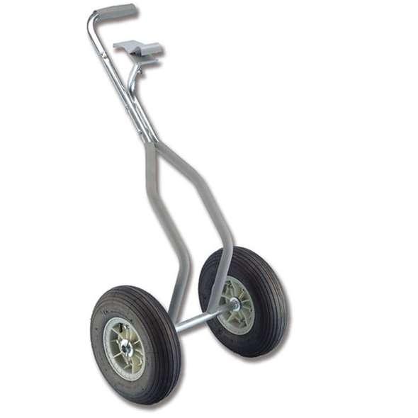 Carrello anteriore trasporto canotti Ruote 360 mm