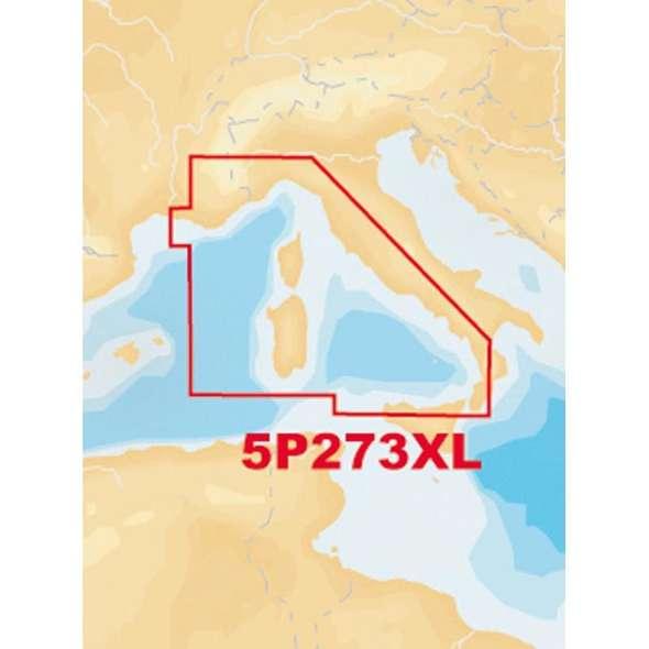 Carta Navionics Platinum+ XL 273 - Tirreno SD