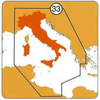 Carta Navionics Platinum+ XL3-33 Italia SD