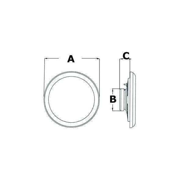 Cassa piatta Ultra slim 150 mm.