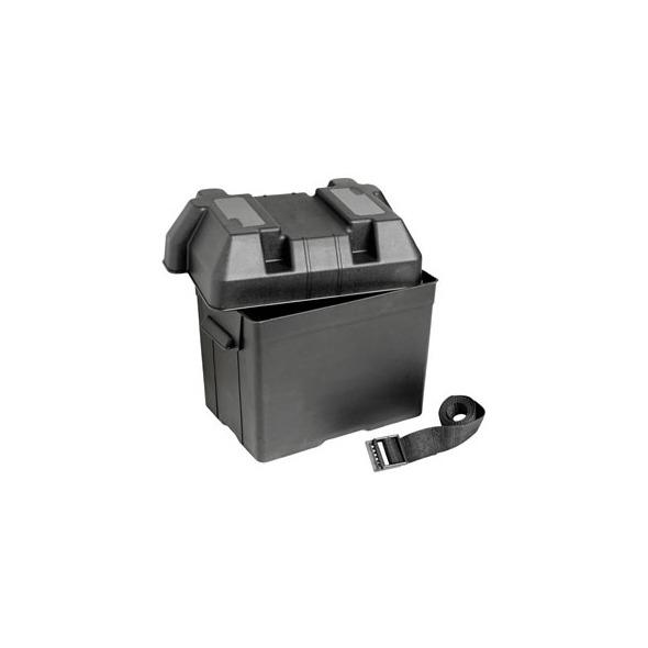 Cassetta portabatteria moplen nero